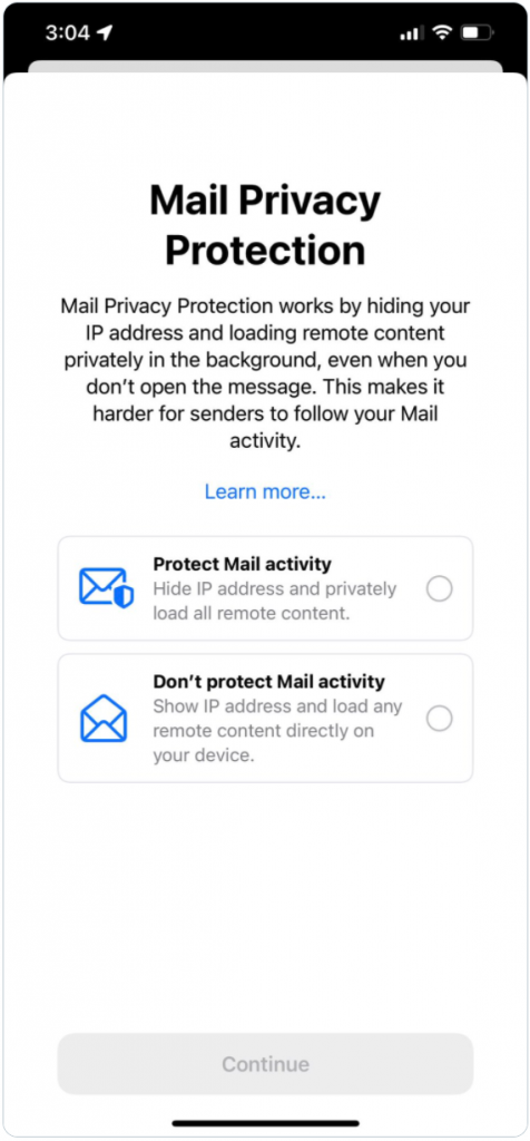apple email privacy protection
