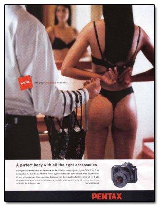 Một quảng cáo camera của Pentax ~